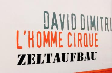 David Dimitri – Zeltaufbau